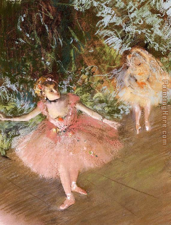 Dancer on Stage painting - Edgar Degas Dancer on Stage art painting