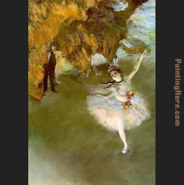 The Star I painting - Edgar Degas The Star I art painting