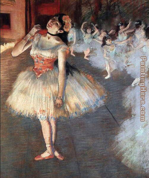 The Star painting - Edgar Degas The Star art painting