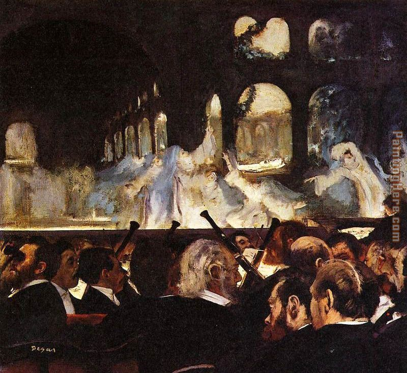 Edgar Degas The ballet scene Art Painting