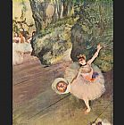Star of the Ballet by Edgar Degas
