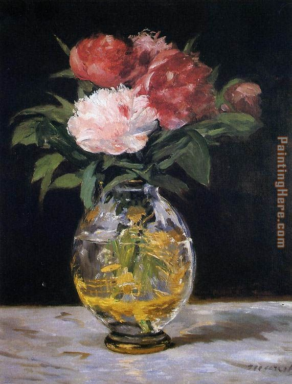 Bouquet of Flowers painting - Edouard Manet Bouquet of Flowers art painting