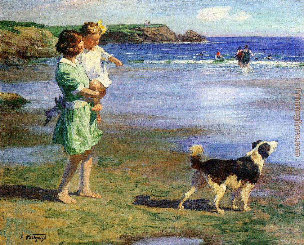 Summer Pleasures painting - Edward Henry Potthast Summer Pleasures art painting