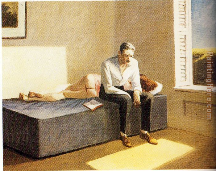 Edward Hopper Excursion into Philosophy Art Painting