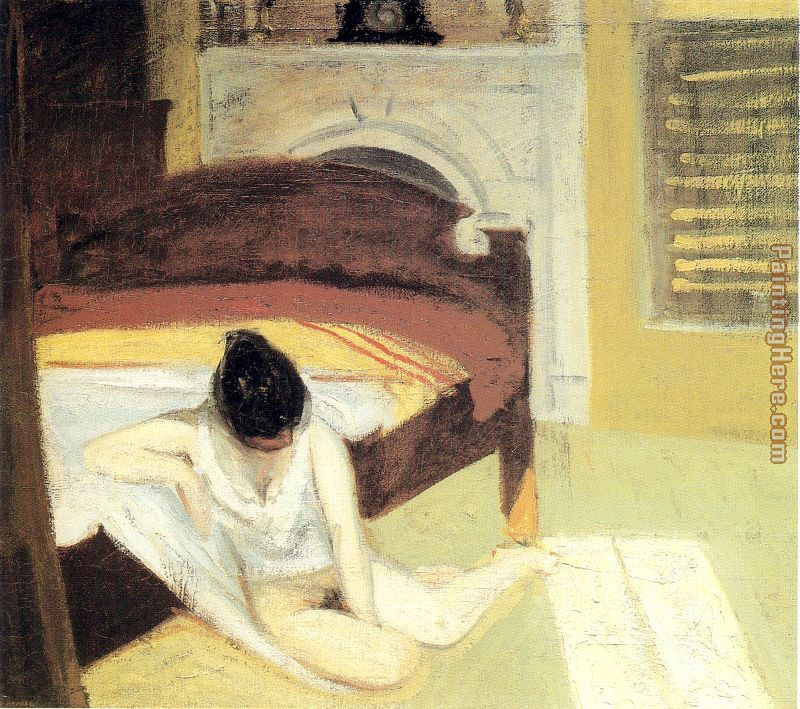 Summer Interior painting - Edward Hopper Summer Interior art painting