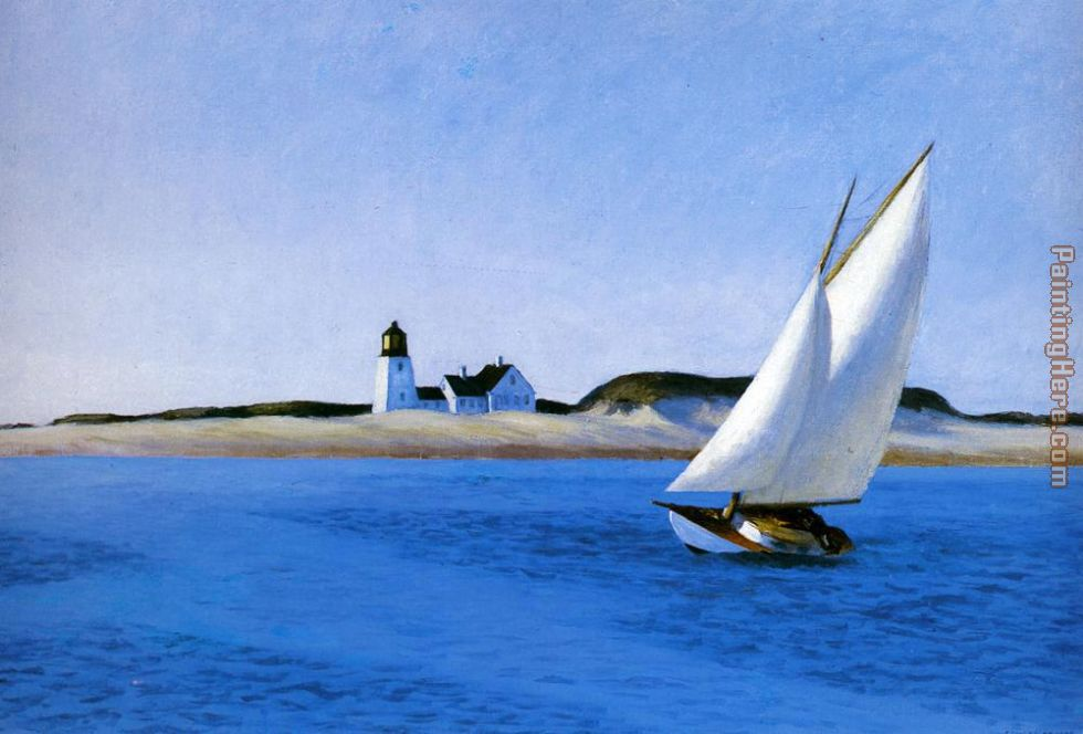 Edward Hopper The Long Leg Art Painting