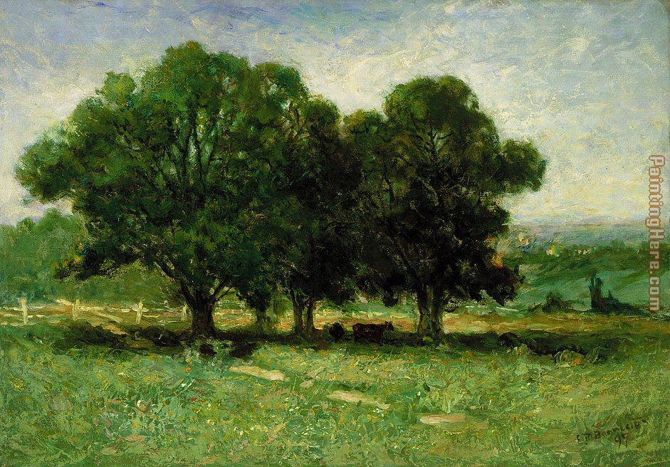 Edward Mitchell Bannister Landscape Art Painting