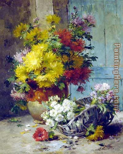 Still Life of Summer Flowers