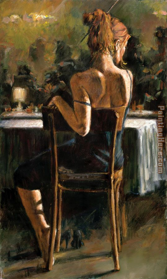 Cynzia at Las Brujas II painting - Fabian Perez Cynzia at Las Brujas II art painting
