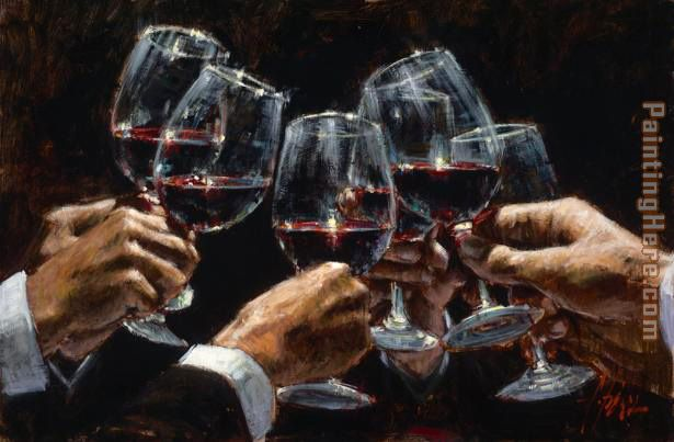 FOR A BETTER LIFE VI painting - Fabian Perez FOR A BETTER LIFE VI art painting