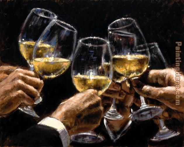 For a Better Life III painting - Fabian Perez For a Better Life III art painting