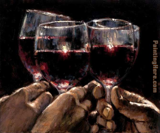 For a better life IV painting - Fabian Perez For a better life IV art painting