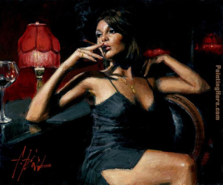 Fabian Perez Saba at Las Brujas II Art Painting