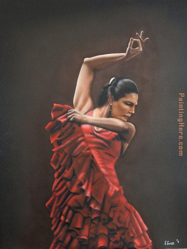 flamenco dancer flamenco dancer 3 painting anysize 50 off