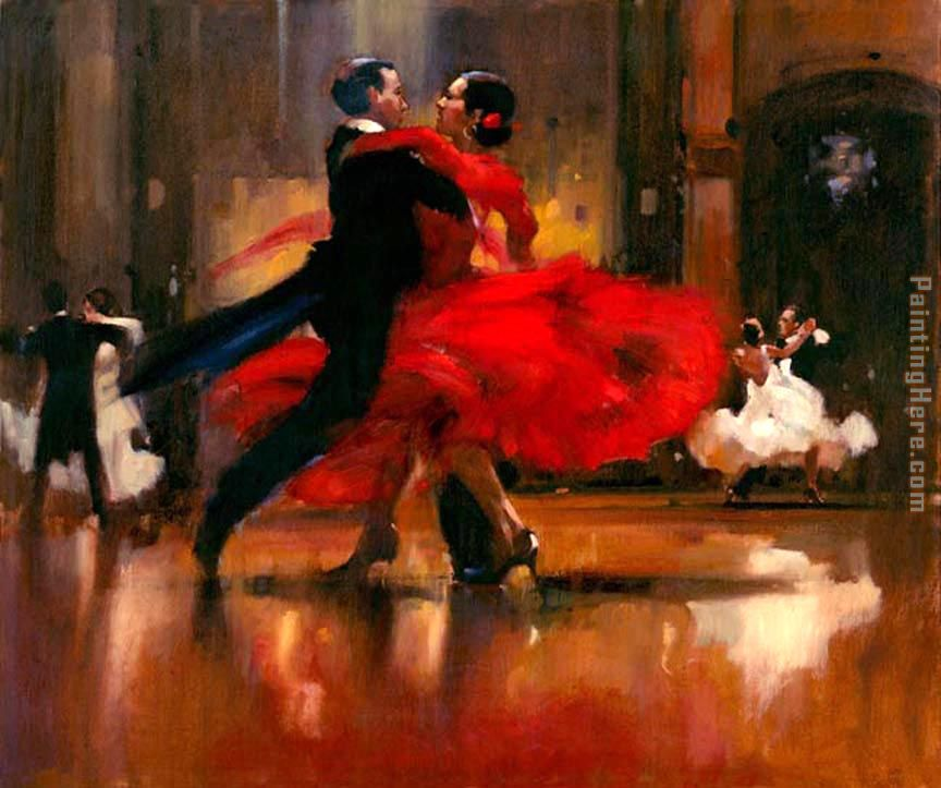 Flamenco Dancer dance series II Art Painting
