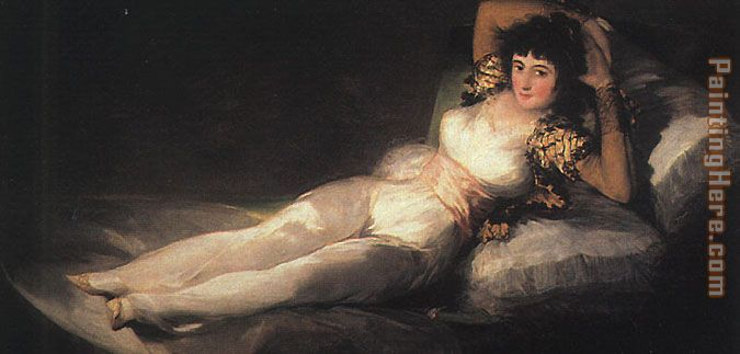 Clothed Maja painting - Francisco de Goya Clothed Maja art painting