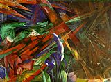 Fate of the Animals by Franz Marc