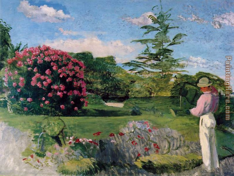 the little gardener painting frederic bazille the little gardener art painting