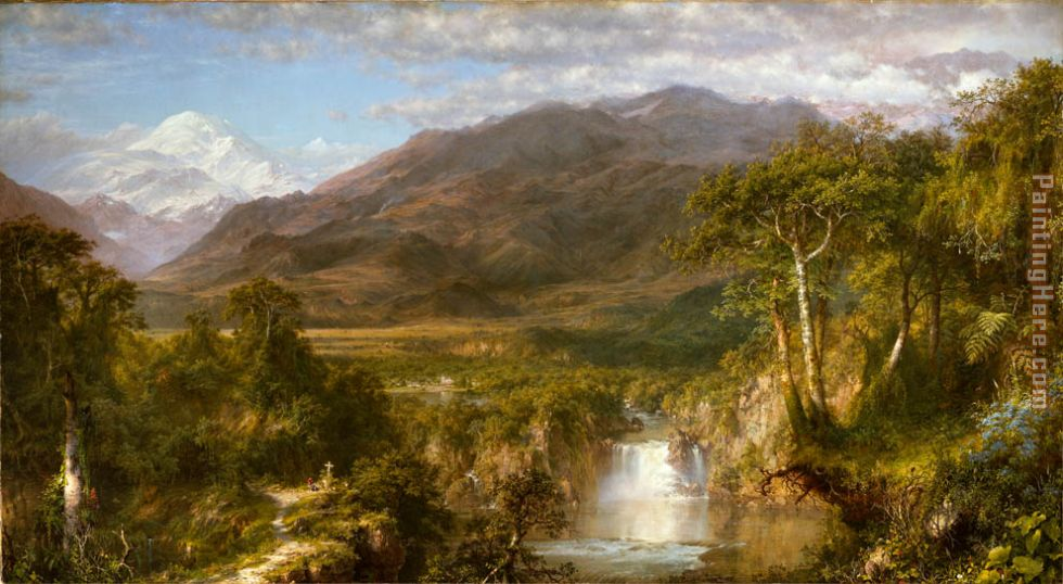 The Heart of the Andes painting - Frederic Edwin Church The Heart of the Andes art painting