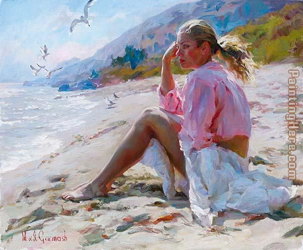 By the shore painting - Garmash By the shore art painting