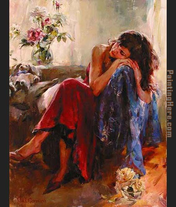 Garmash Dreaming of Love Art Painting