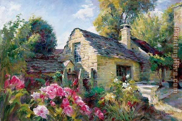 garmash la maison de provence painting anysize 50 off la maison de provence painting for sale. Black Bedroom Furniture Sets. Home Design Ideas