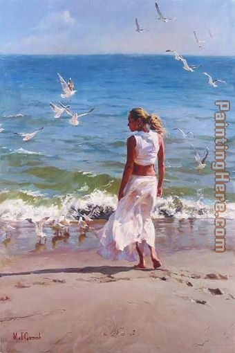 OCEAN FRONT painting - Garmash OCEAN FRONT art painting