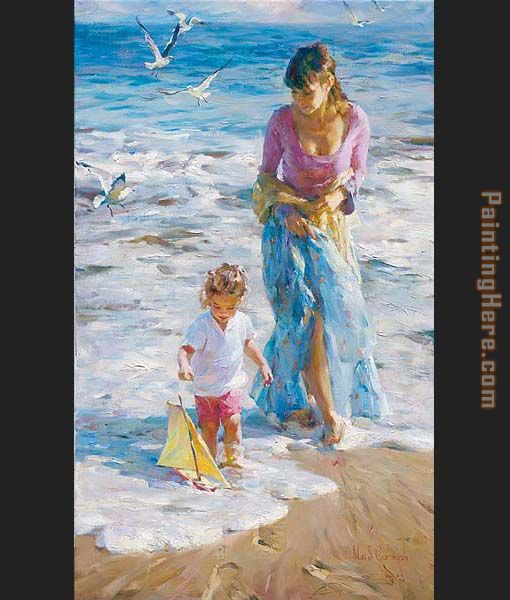 Precious Moment painting - Garmash Precious Moment art painting