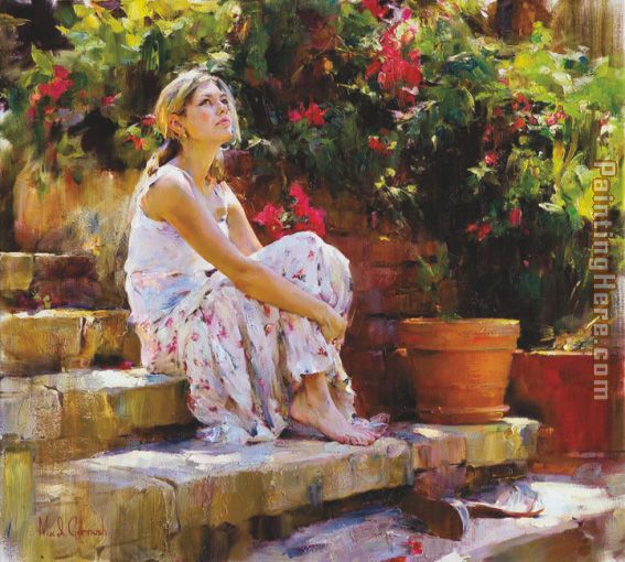 SUNNY DAY painting - Garmash SUNNY DAY art painting