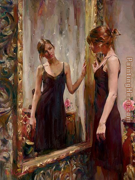 Timeless Beauty painting - Garmash Timeless Beauty art painting