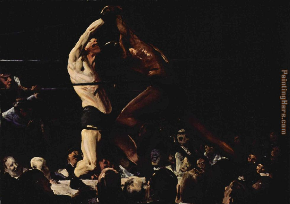George Bellows Both Members of This Club Art Painting