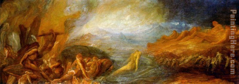 Creation painting - George Frederick Watts Creation art painting