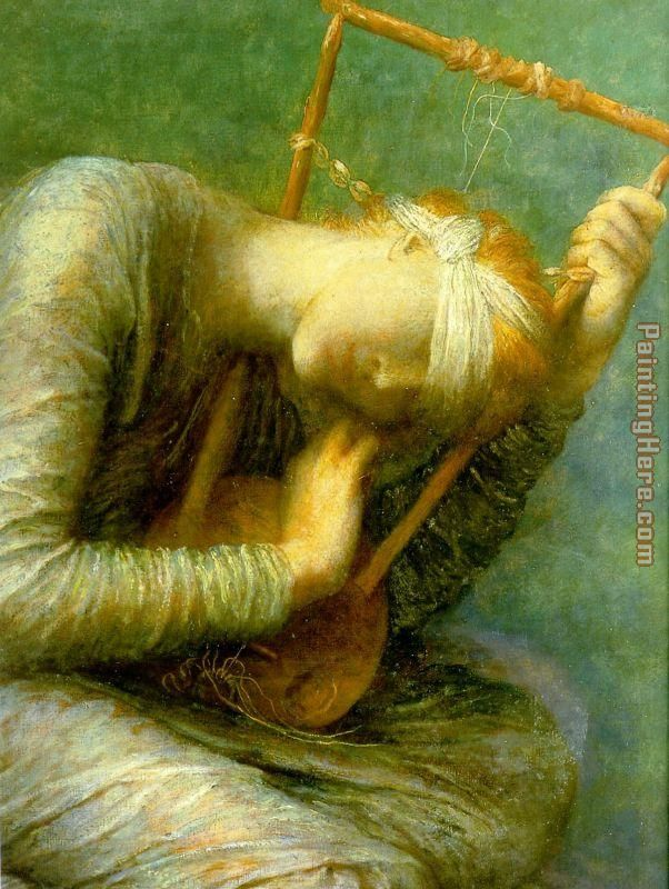 George Frederick Watts Hope detail painting anysize 50% ...