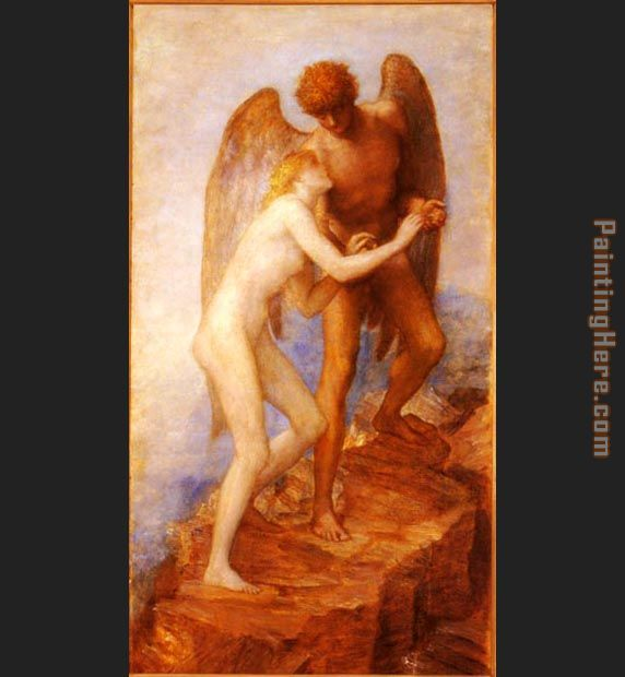 Love And Life painting - George Frederick Watts Love And Life art painting