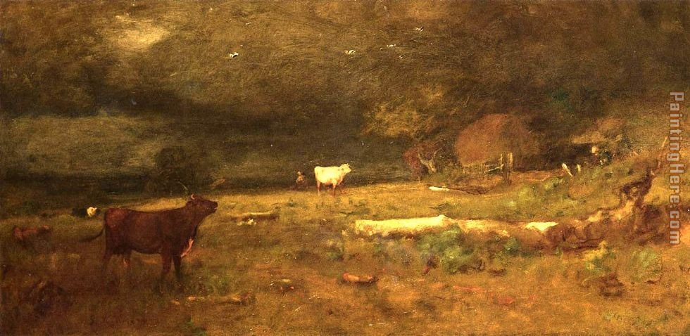 George Inness The Coming Storm Art Painting