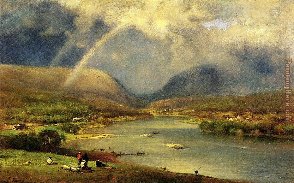 George Inness The Delaware Water Gap Art Painting