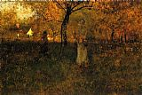 In the Orchard, Milton