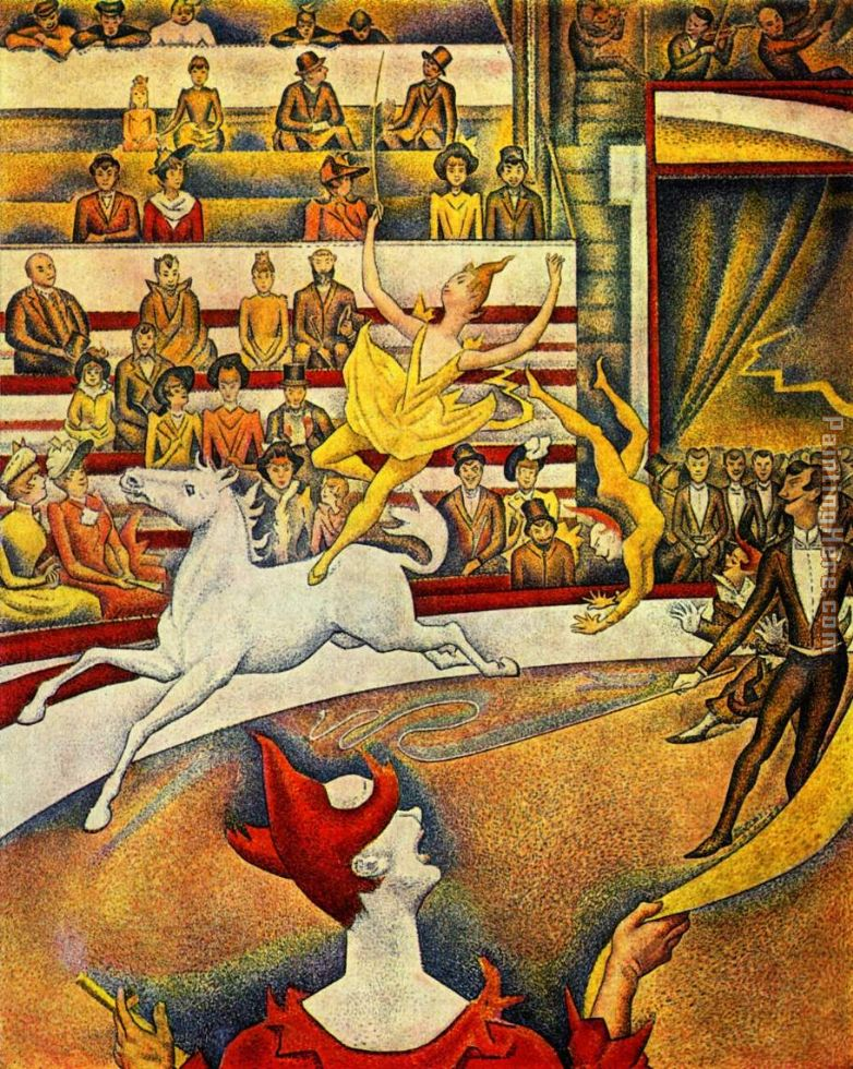 georges seurat the circus - photo #1