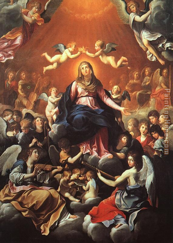 Guido Reni The Coronation of the Virgin Art Painting