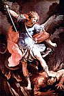 The Archangel Michael by Guido Reni