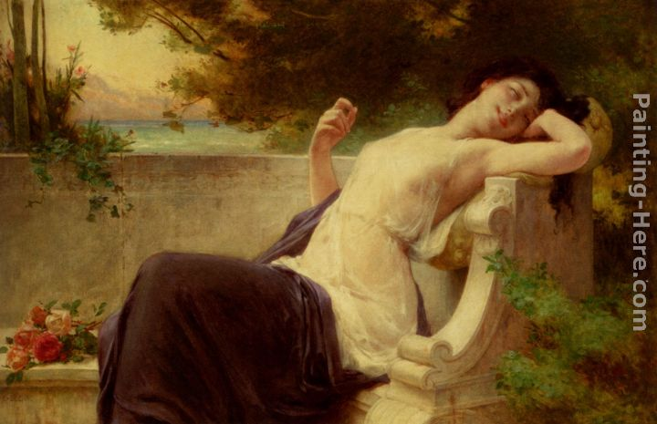 Guillaume Seignac An Afternoon Rest Art Painting