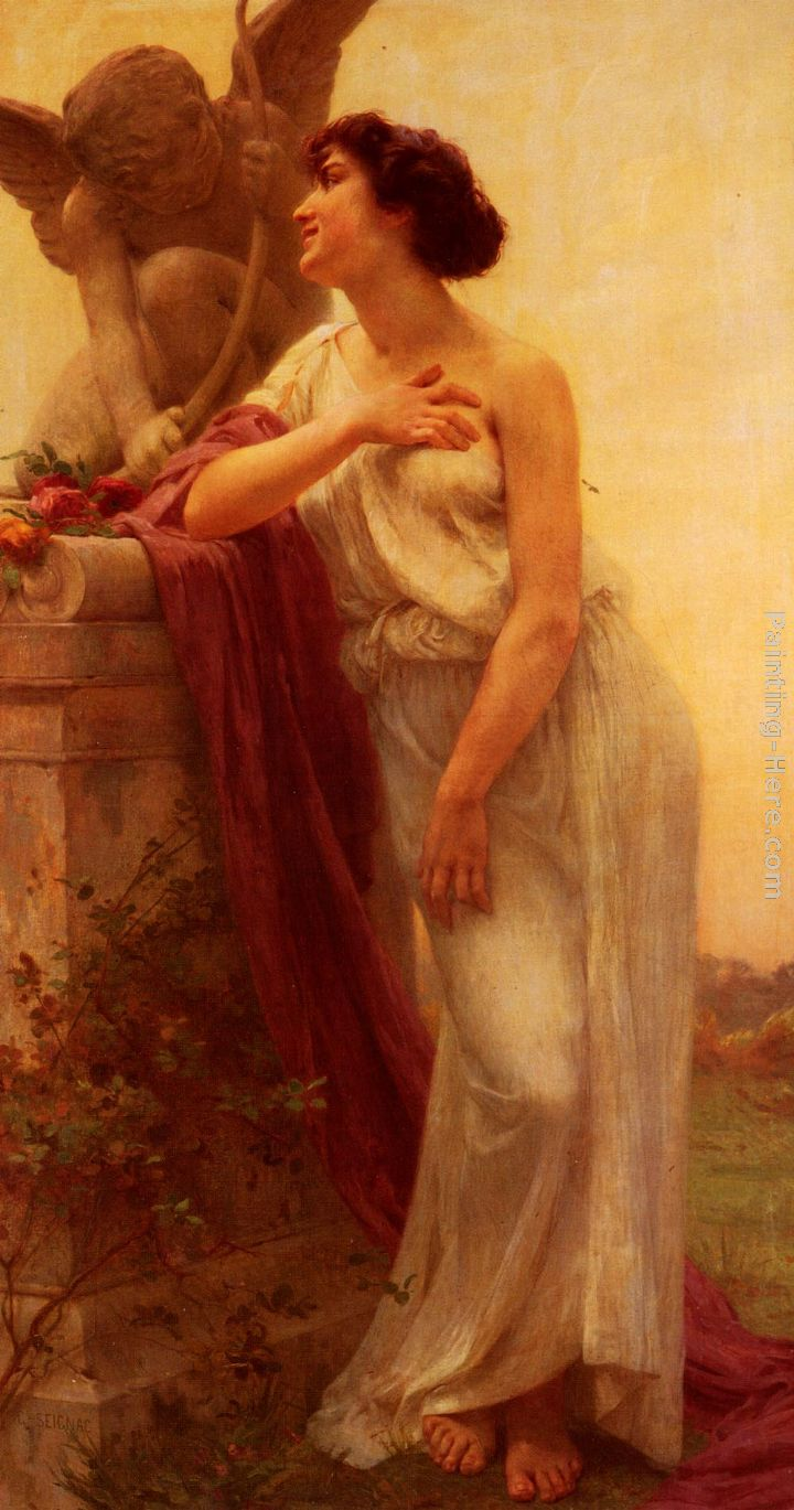 Guillaume Seignac Confidence Art Painting