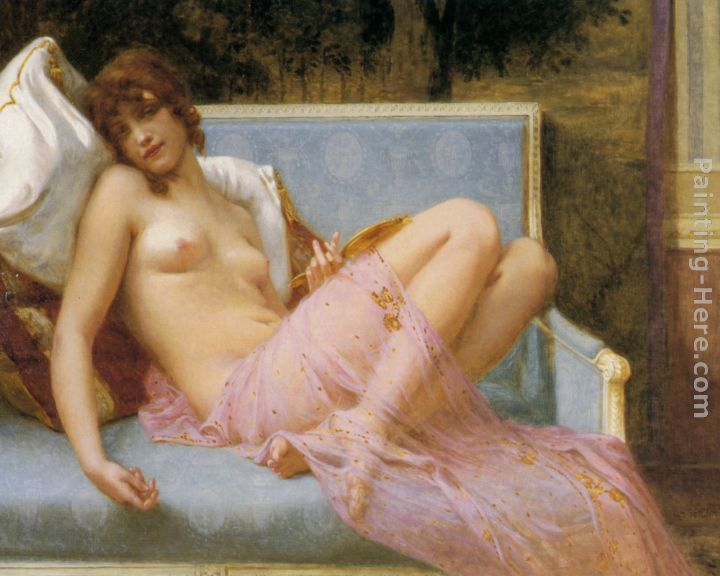 Guillaume Seignac Idolence Art Painting