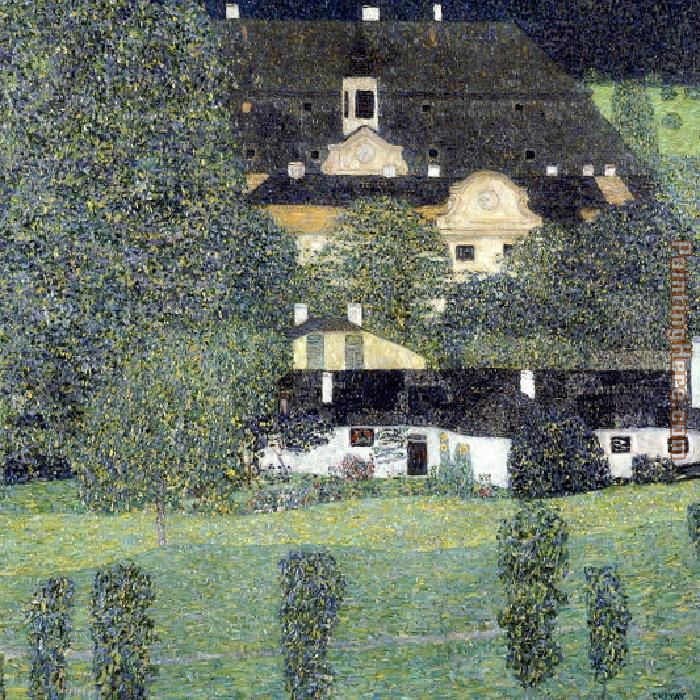 Gustav Klimt Schloss Kammer Am Attersee II Art Painting