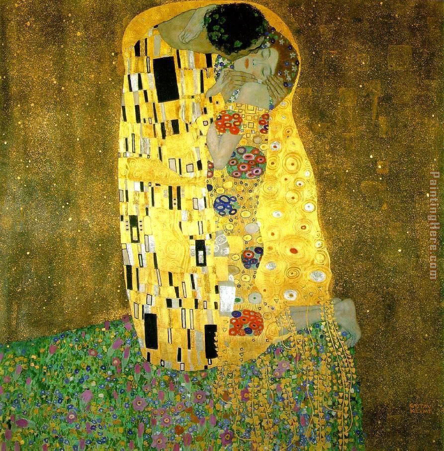 Klimt the kiss painting anysize 50 off for Gustav klimt original paintings for sale