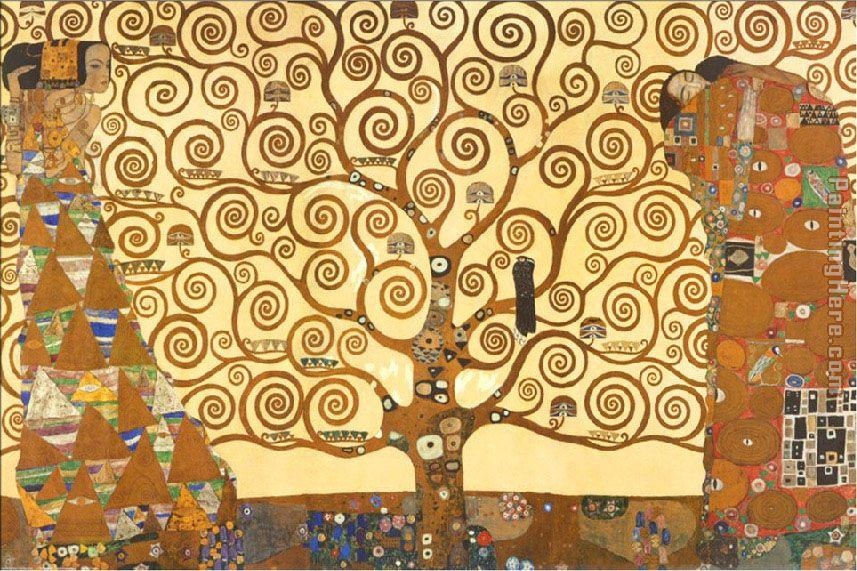 tree of life klimt. The Tree of Life 1909