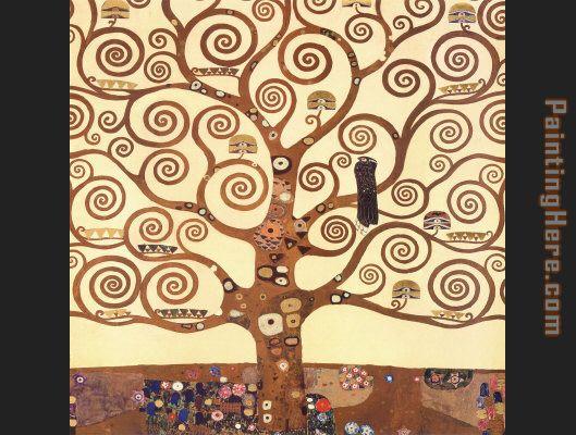 Gustav Klimt The Tree of Life Stoclet Frieze painting anysize 50 ...