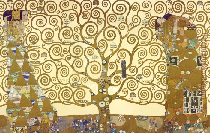 Gustav Klimt The Tree of Life Art Painting