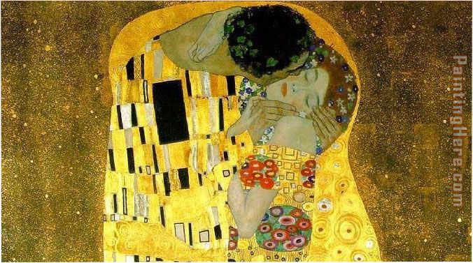 Gustav Klimt The Kiss Cropped Painting Anysize 50 Off The Kiss