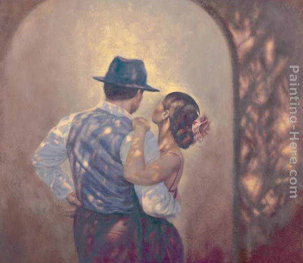 At last painting - Hamish Blakely At last art painting